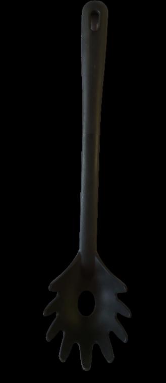 Spaghettilöffel schwarz