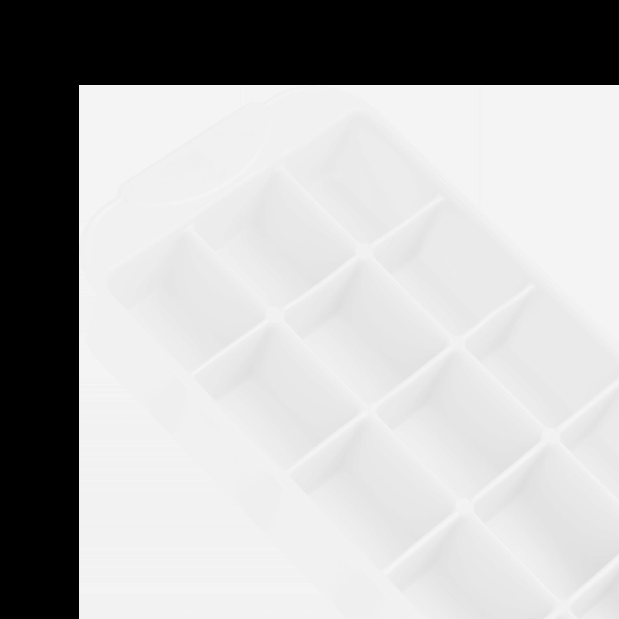 Eiswürfelformer flexibel